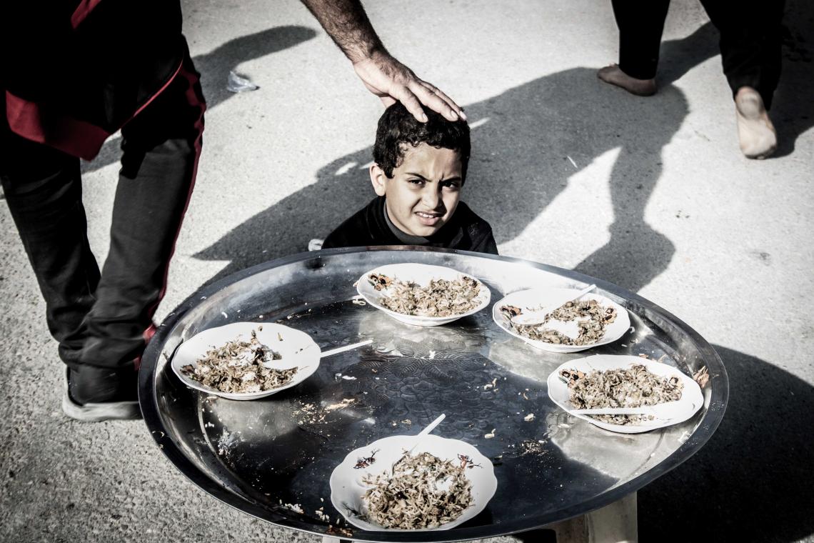 سوگواره چهارم-عکس 11-جواد پرست-پیاده روی اربعین از نجف تا کربلا
