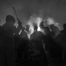 سوگواره پنجم-عکس 30-هادی دهقان پور-پیاده روی اربعین از نجف تا کربلا