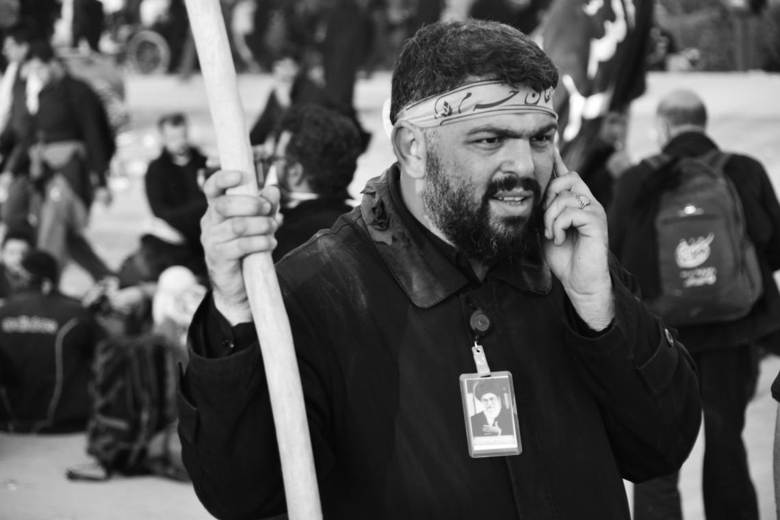 سوگواره چهارم-عکس 58-مهرداد  حسنی-پیاده روی اربعین از نجف تا کربلا
