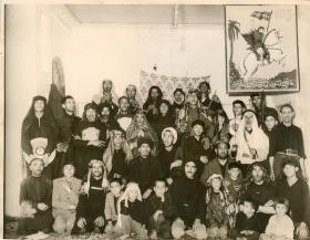 سوگواره سوم-عکس 4-اصغر محمد زاده-جلسه هیأت یادبود