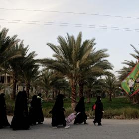 سوگواره پنجم-عکس 131-علی دهقان-پیاده روی اربعین از نجف تا کربلا