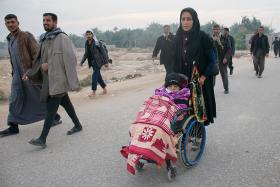 سوگواره چهارم-عکس 10-عبدالمجید اکبری-پیاده روی اربعین از نجف تا کربلا