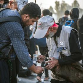 هشتمین سوگواره عاشورایی عکس هیأت-عباس مشهدی آقایی-جنبی-پیاده روی اربعین حسینی