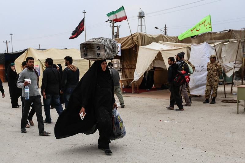 سوگواره سوم-عکس 170-روح اله پورسامانی-پیاده روی اربعین از نجف تا کربلا