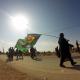 سوگواره چهارم-عکس 15-حسین رضائی فرد-پیاده روی اربعین از نجف تا کربلا