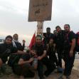 سوگواره سوم-عکس 14-روح اله علی تبار-پیاده روی اربعین از نجف تا کربلا
