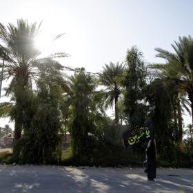 سوگواره پنجم-عکس 132-علی دهقان-پیاده روی اربعین از نجف تا کربلا
