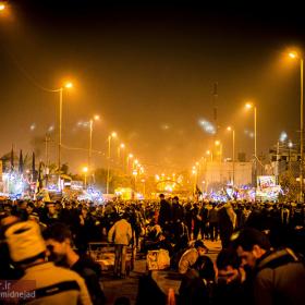 سوگواره سوم-عکس 38-امیر امیدنژاد-پیاده روی اربعین از نجف تا کربلا