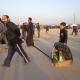 سوگواره سوم-عکس 3-علی مقنی-پیاده روی اربعین از نجف تا کربلا