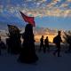 سوگواره پنجم-عکس 23-جابر غلامی-پیاده روی اربعین از نجف تا کربلا