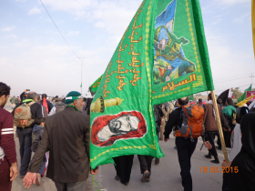 سوگواره سوم-عکس 9-علی مقنی-پیاده روی اربعین از نجف تا کربلا