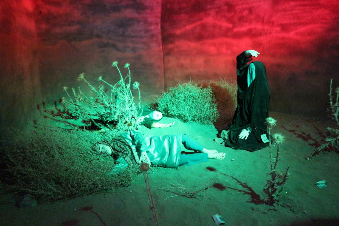 سوگواره سوم-عکس 60-محمد جواد نیکوفرد-آیین های عزاداری