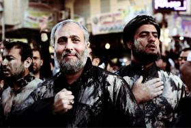 سوگواره سوم-عکس 19-محمد حسن صلواتی-پیاده روی اربعین از نجف تا کربلا