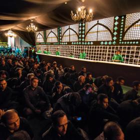 سوگواره پنجم-عکس 16-محمد حسين دهقاني-جلسه هیأت فضای بیرونی