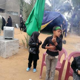 سوگواره سوم-عکس 3-محمد باقری-پیاده روی اربعین از نجف تا کربلا