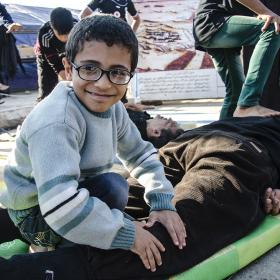 سوگواره سوم-عکس 52-محمدامین غفاری-پیاده روی اربعین از نجف تا کربلا