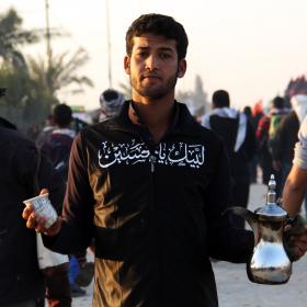 سوگواره دوم-عکس 15-محمد حسن صلواتی-پیاده روی اربعین از نجف تا کربلا