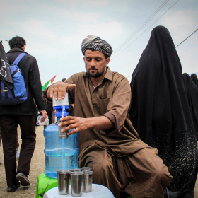 سوگواره پنجم-عکس 64-محمد حسن صلواتی-پیاده روی اربعین از نجف تا کربلا
