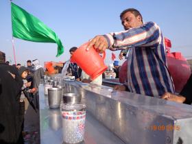 سوگواره سوم-عکس 26-علی مقنی-پیاده روی اربعین از نجف تا کربلا