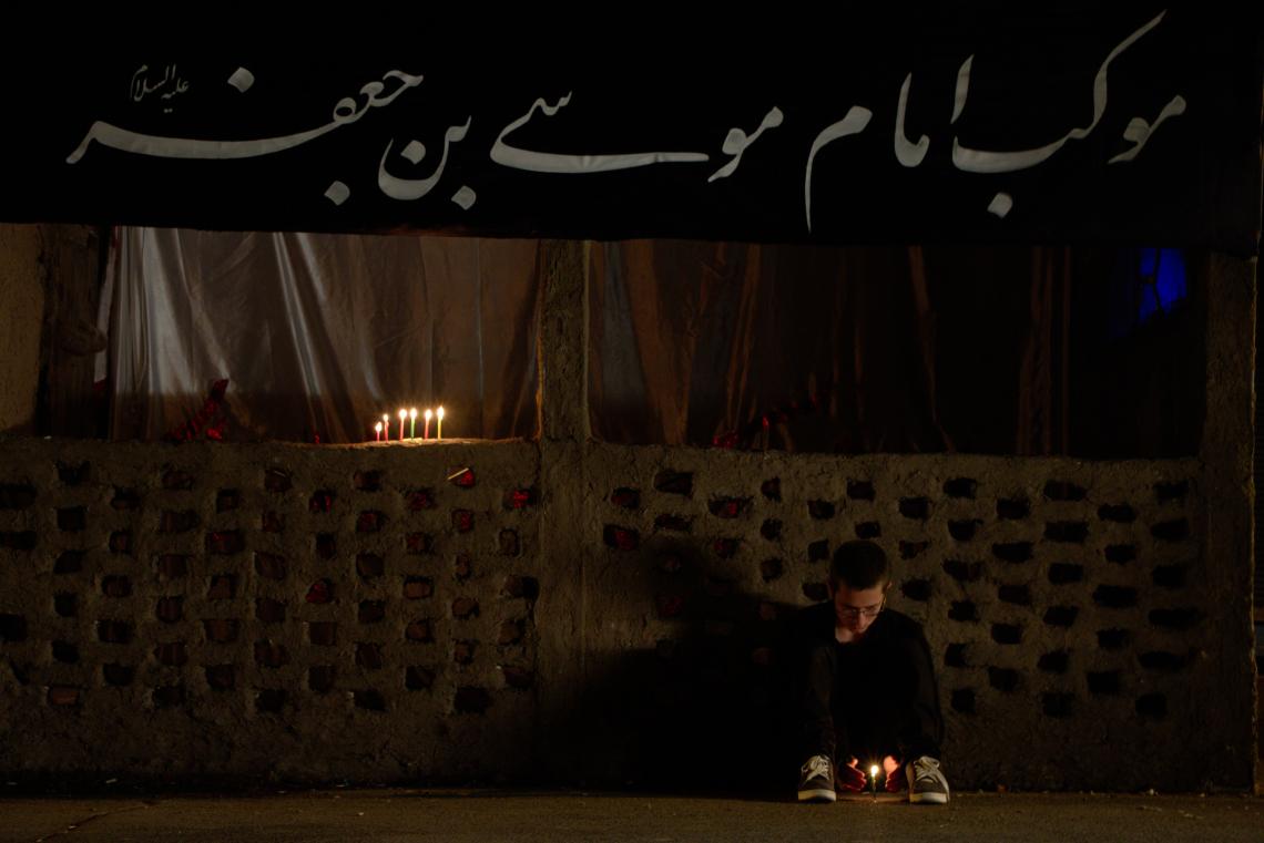 سوگواره پنجم-عکس 20-علی اصغر جمشیدزاده لرده-جلسه هیأت