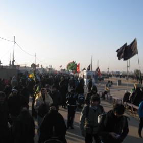 سوگواره دوم-عکس 60-محمد کشاورز-پیاده روی اربعین از نجف تا کربلا