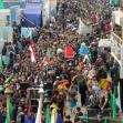 سوگواره سوم-عکس 10-امین رحیم آبادی-پیاده روی اربعین از نجف تا کربلا