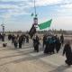 سوگواره چهارم-عکس 4-محمدتقی خوش خواهش-پیاده روی اربعین از نجف تا کربلا