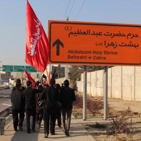 سوگواره چهارم-عکس 41-حسین دیواندری-پیاده روی اربعین از نجف تا کربلا