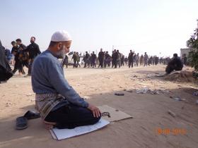 سوگواره سوم-عکس 11-علی مقنی-پیاده روی اربعین از نجف تا کربلا
