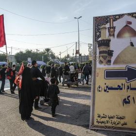 سوگواره سوم-عکس 56-محمدامین غفاری-پیاده روی اربعین از نجف تا کربلا