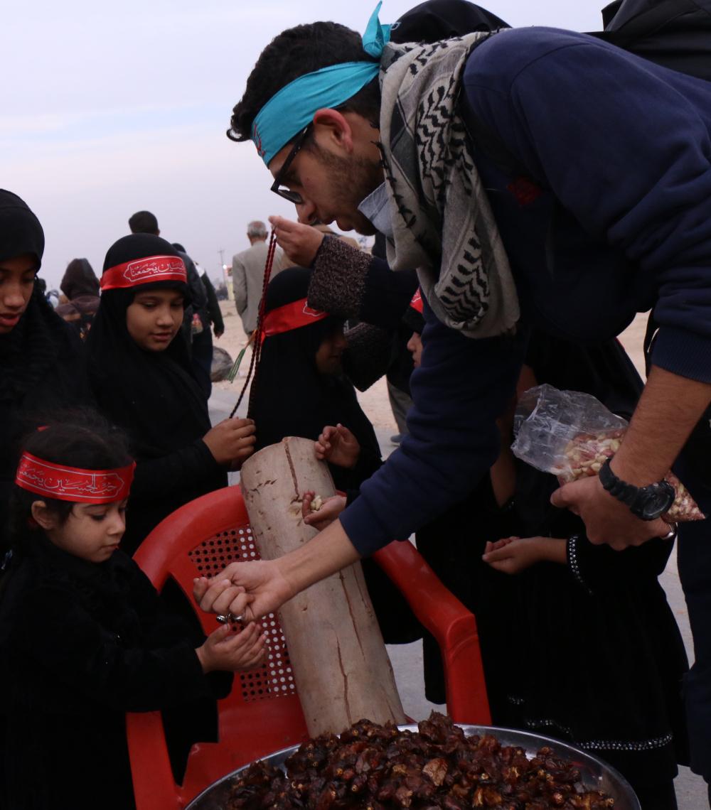 سوگواره پنجم-عکس 12-سعید ابراهیمی نهزمی -پیاده روی اربعین از نجف تا کربلا