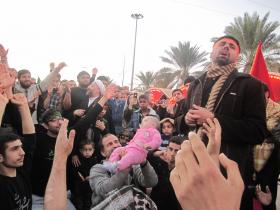سوگواره دوم-عکس 10-مصطفی میرزایی-پیاده روی اربعین از نجف تا کربلا
