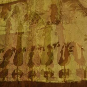 سوگواره دوم-عکس 11-سید علیرضا قاهانی-جلسه هیأت فضای بیرونی
