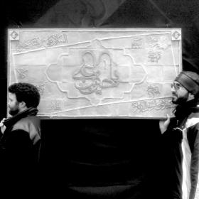 سوگواره دوم-عکس 3-غلام رضا پیرهادی-جلسه هیأت فضای بیرونی