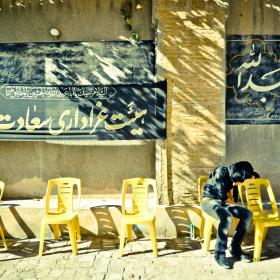 سوگواره دوم-عکس 31-امیر حسین علیداقی-جلسه هیأت فضای بیرونی