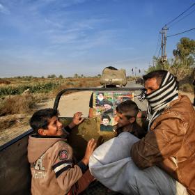 سوگواره پنجم-عکس 57-محمد حسن صلواتی-پیاده روی اربعین از نجف تا کربلا