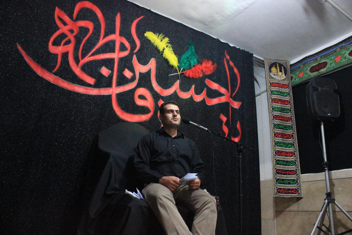 سوگواره چهارم-عکس 15-محمدرضا غلامی-جلسه هیأت فضای داخلی