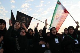 سوگواره پنجم-عکس 42-محمد شهبازی-پیاده روی اربعین از نجف تا کربلا