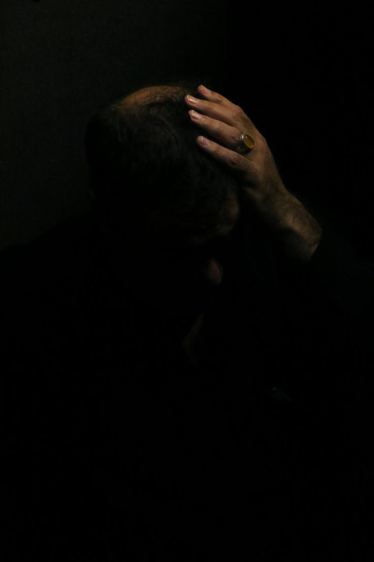 سوگواره پنجم-عکس 10-حسین  حاجی قاسمی-جلسه هیأت فضای بیرونی