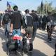 سوگواره پنجم-عکس 3-فاطمه عاقل زاده-پیاده روی اربعین از نجف تا کربلا