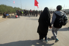 سوگواره سوم-عکس 13-محمد رفیعی موحد-پیاده روی اربعین از نجف تا کربلا