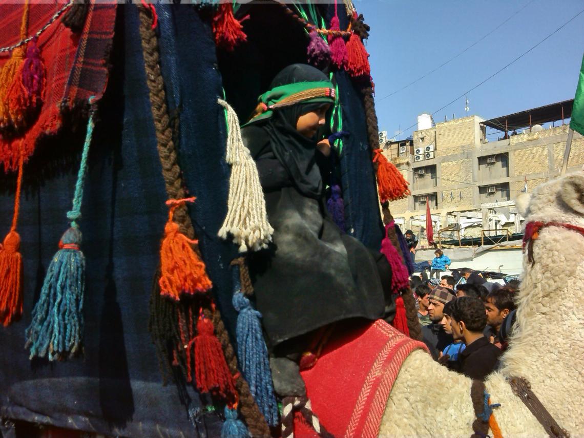 سوگواره سوم-عکس 4-امید عباسی-پیاده روی اربعین از نجف تا کربلا