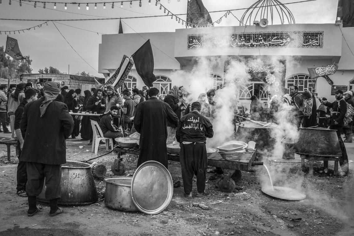 سوگواره پنجم-عکس 16-میلاد نعلبندیان-پیاده روی اربعین از نجف تا کربلا