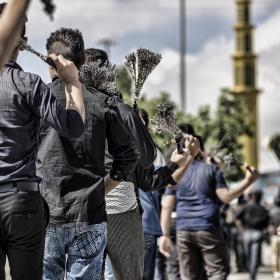 سوگواره پنجم-عکس 36-حسین رحیمی-جلسه هیأت فضای بیرونی