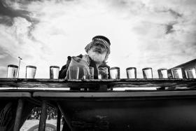 سوگواره پنجم-عکس 33-جواد پرست-پیاده روی اربعین از نجف تا کربلا