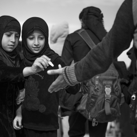 سوگواره چهارم-عکس 14-حسین علی پور-پیاده روی اربعین از نجف تا کربلا