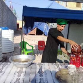 هشتمین سوگواره عاشورایی عکس هیأت-مهدي مقدم-بخش جنبی-پیاده روی اربعین حسینی