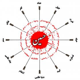 سوگواره چهارم-پوستر 3-جواد یوسفی-پوستر عاشورایی