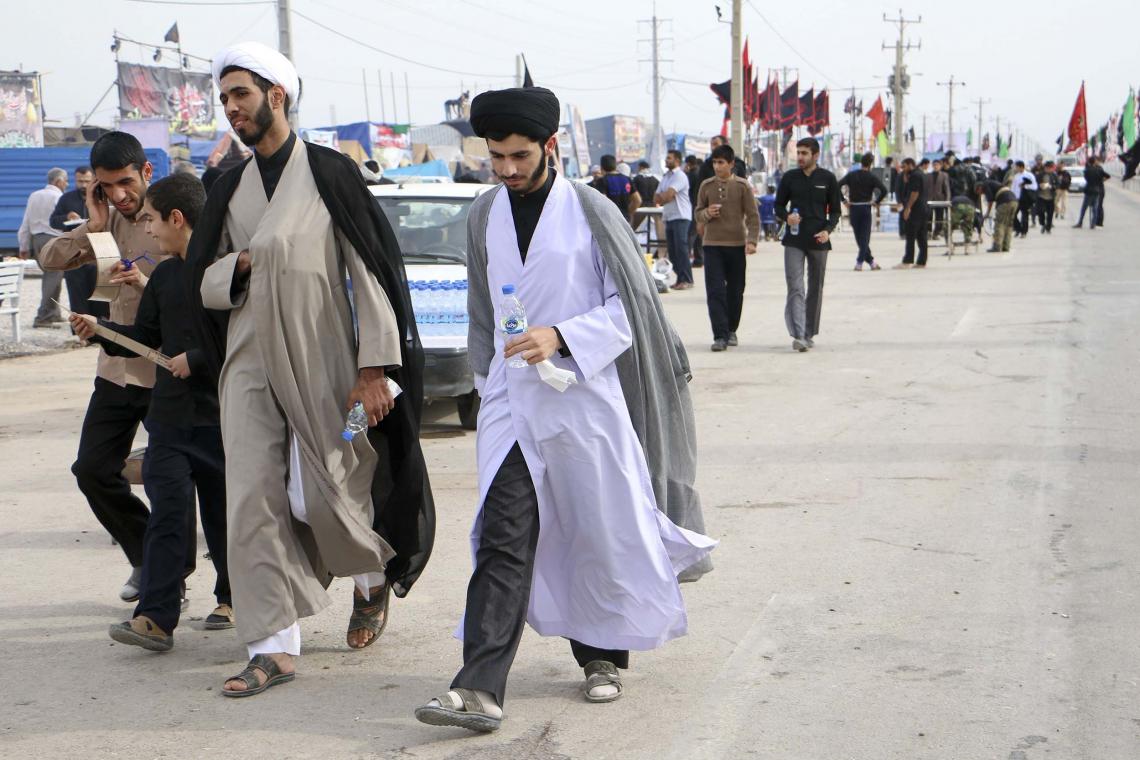 سوگواره پنجم-عکس 5-سید خلیل قیم موسوی-پیاده روی اربعین از نجف تا کربلا