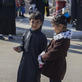 سوگواره دوم-عکس 9-سوده رنج بردار-پیاده روی اربعین از نجف تا کربلا
